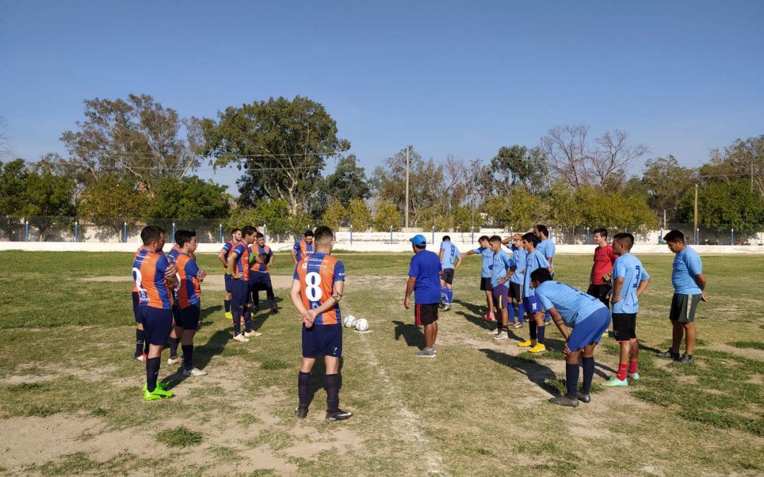 La Selección Minera jugó su primer amistoso del año