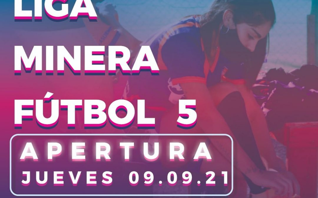 Le ponemos primera al primer campeonato de futbol femenino 5 de la Liga Minera.